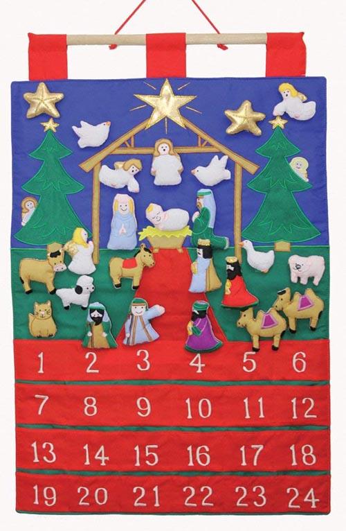 Tidings of Joy Fabric Advent Calendar