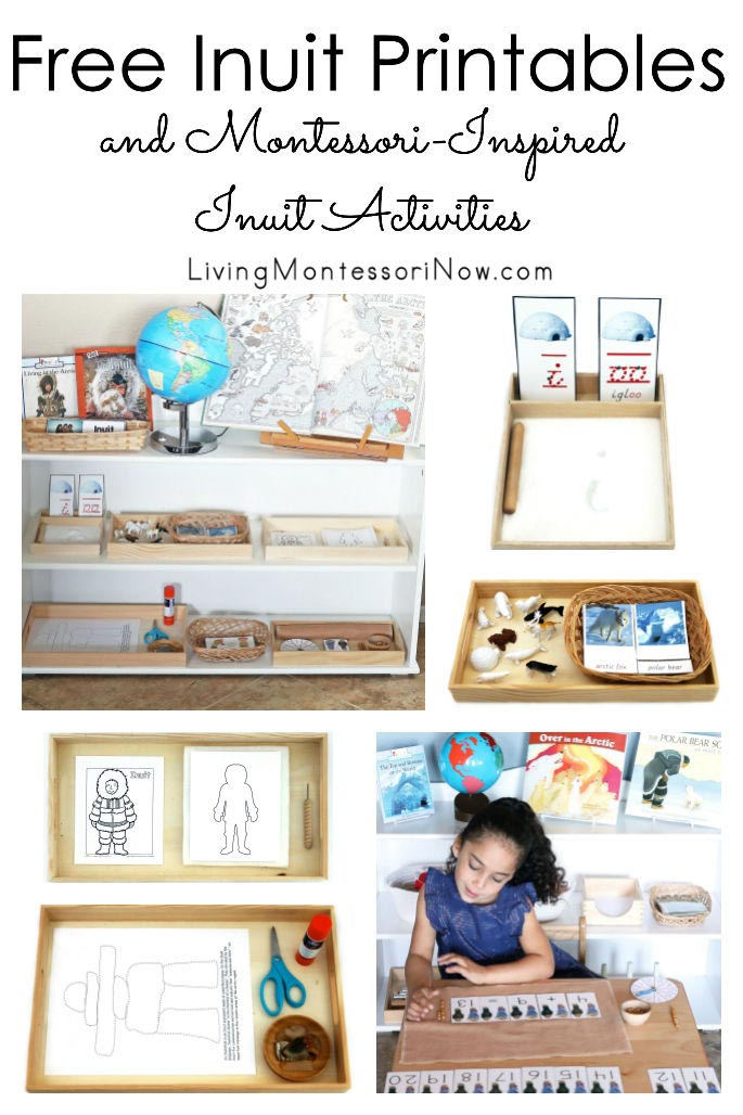 Free Inuit Printables and Montessori-Inspired Inuit Activities