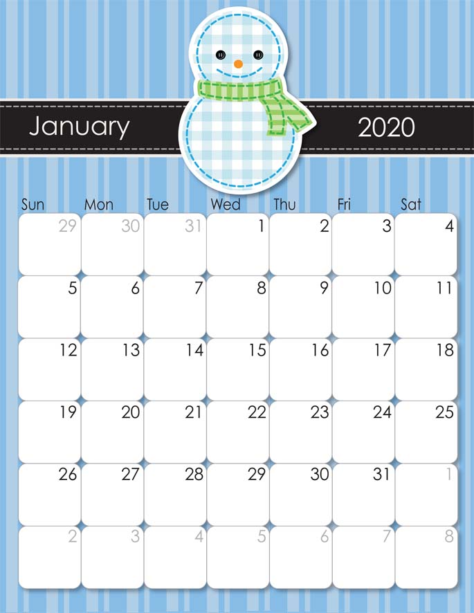 January 2020 from iMom