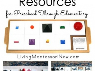 Montessori Grammar Resources for Preschool Through Elementary