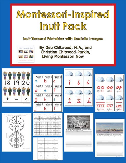 Montessori-Inspired Inuit Pack
