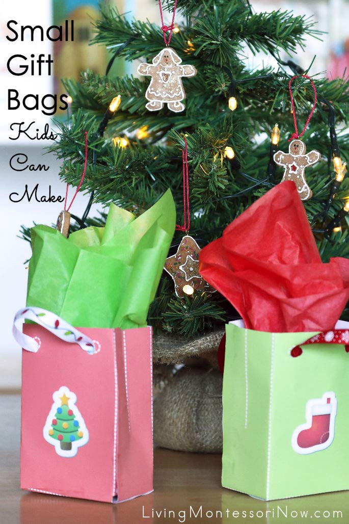 Small Gift Bags Kids Can Make