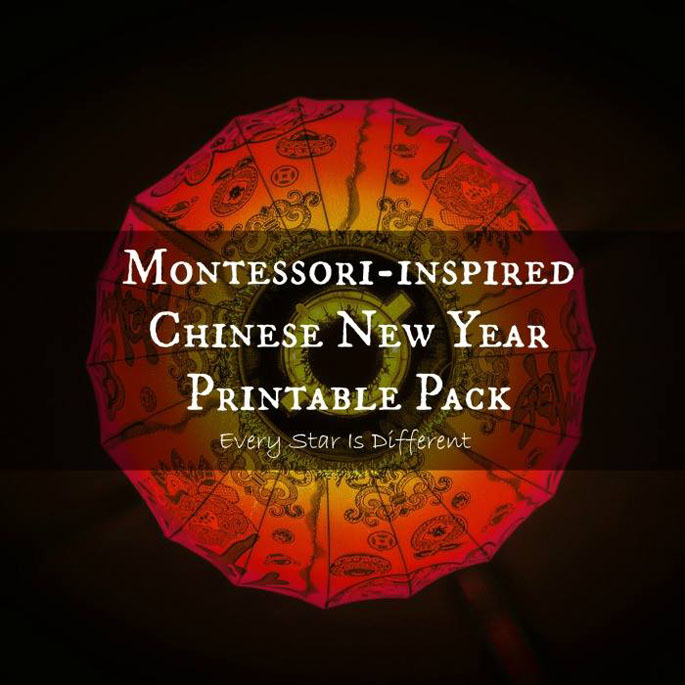 Montessori-Inspired Chinese New Year Printable Pack