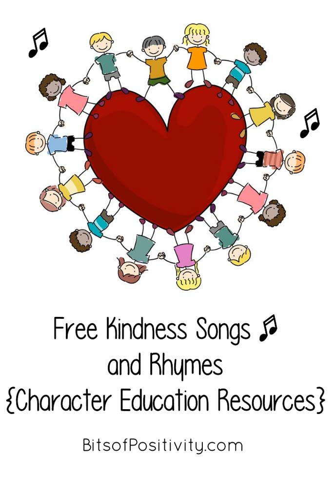 Free Kindness Songs and Rhymes