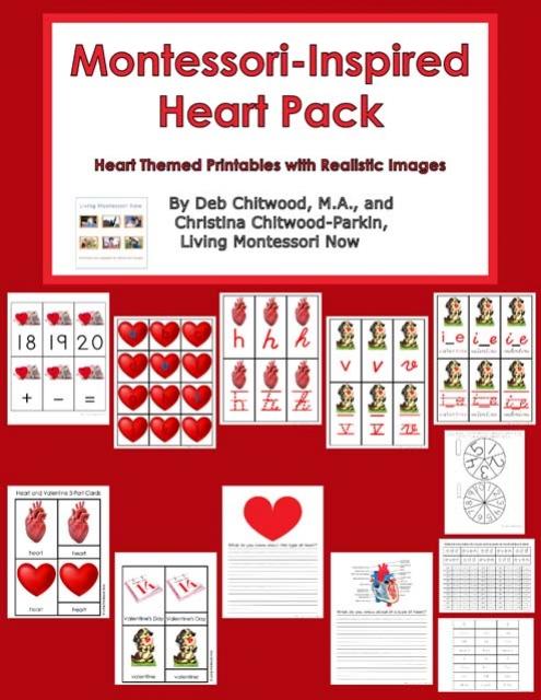 Montessori-Inspired Heart Pack