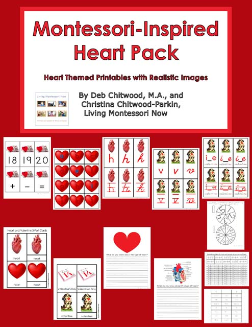 Montessori-Inspired Heart Pack