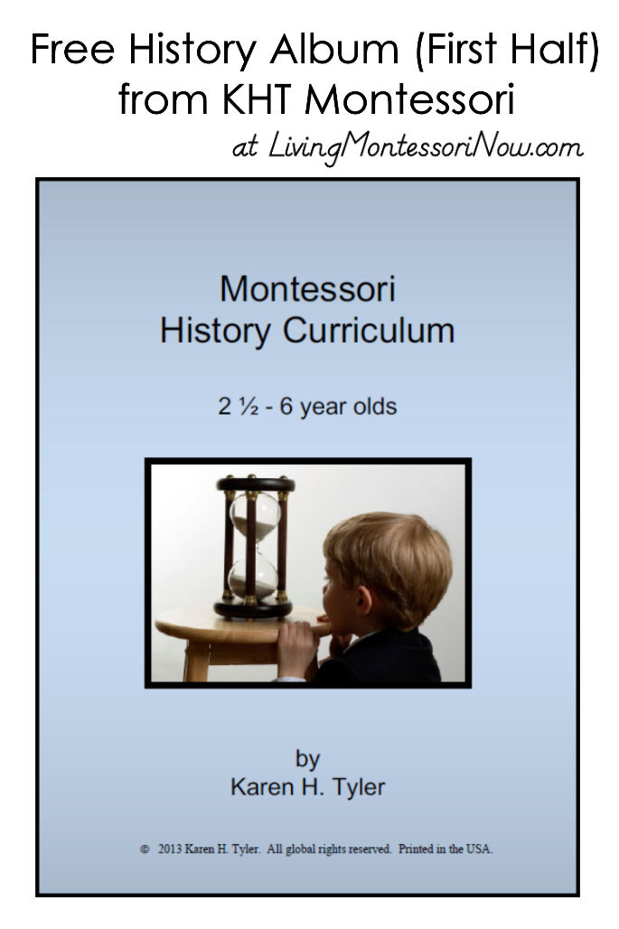 Free History Album (First Half) from KHT Montessori