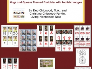 Montessori-Inspired Kings and Queens Pack