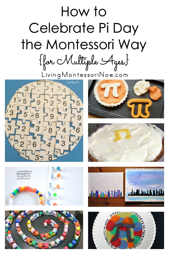 How to Celebrate Pi Day the Montessori Way {for Multiple Ages}