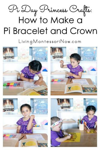 Pi Day Princess Crafts: How to Make a Pi Bracelet and Crown