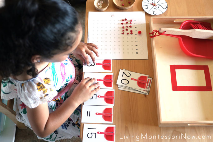 Completing Multiplication Equation After Using a DIY Multiplication Board