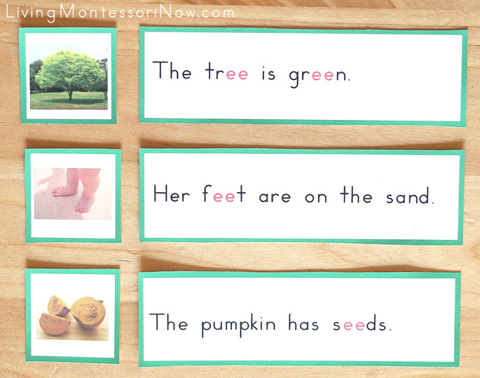 Green Phonogram Sentences