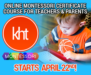 KHT Montessori April 22 Online Course