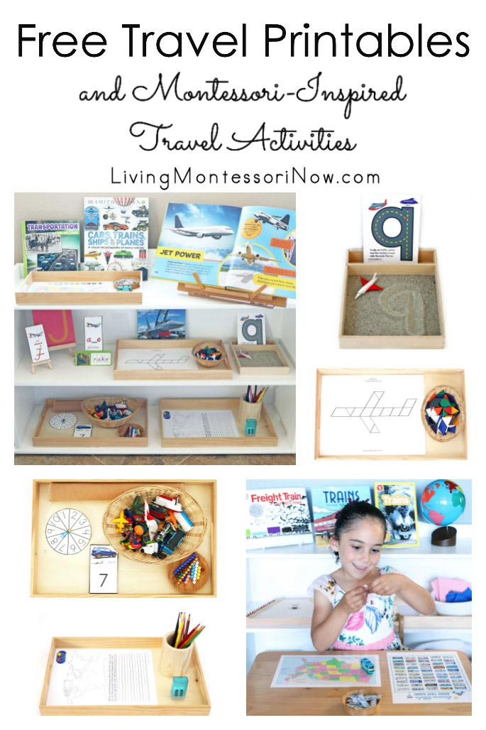 Free Travel Printables and Montessori-Inspired Travel Activities