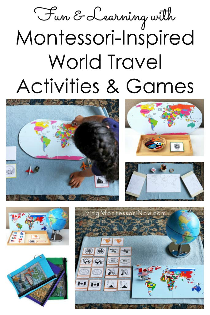 Fun and Learning with Montessori-Inspired World Travel Activities and Games