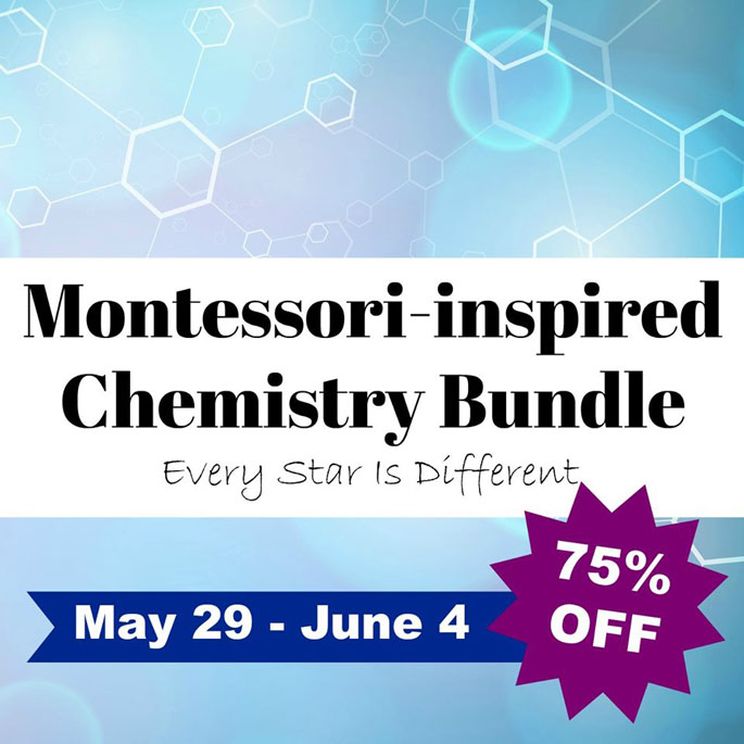 Montessori-Inspired Chemistry Bundle from Every Star Is Different 75% Off