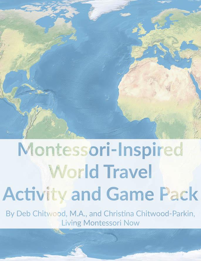 Montessori-Inspired World Travel Activity and Game Pack