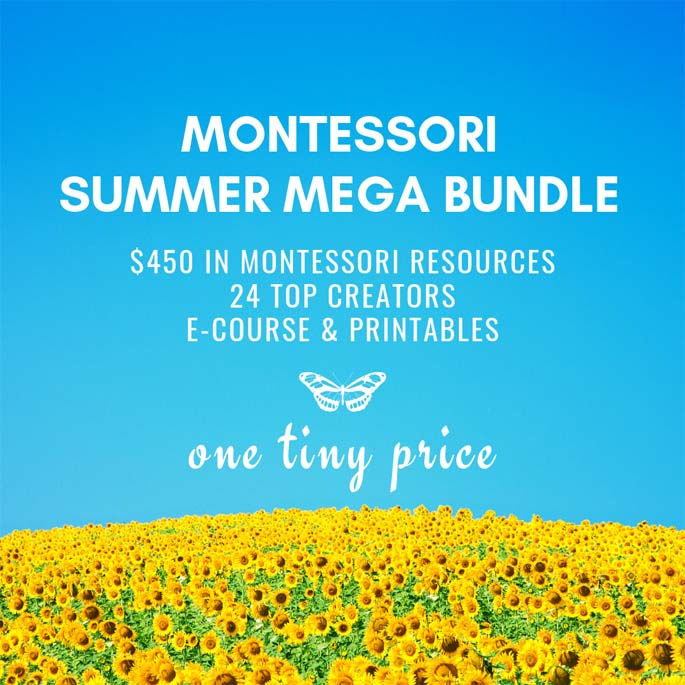 Montessori Summer Mega Bundle at 95% off!