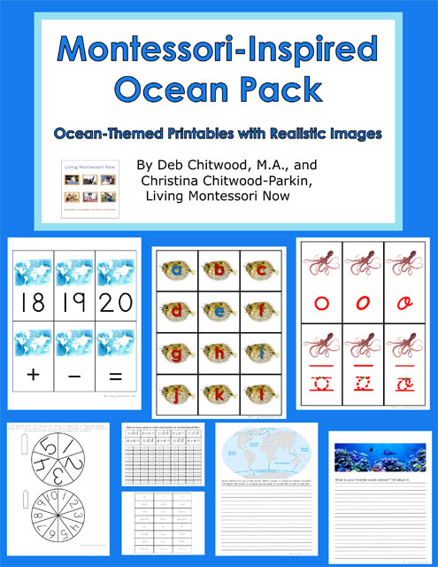 Montessori-Inspired Ocean Pack