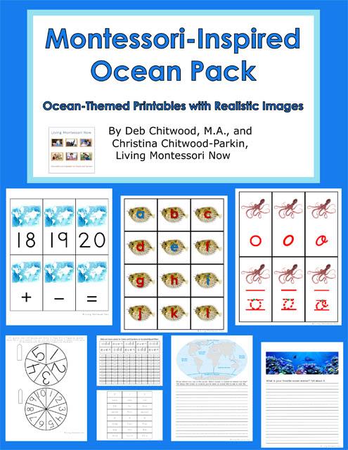 Montessori-Inspired Ocean Pack