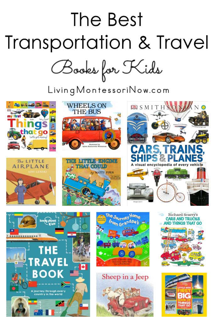 The Best Transportation and Travel Books for Kids