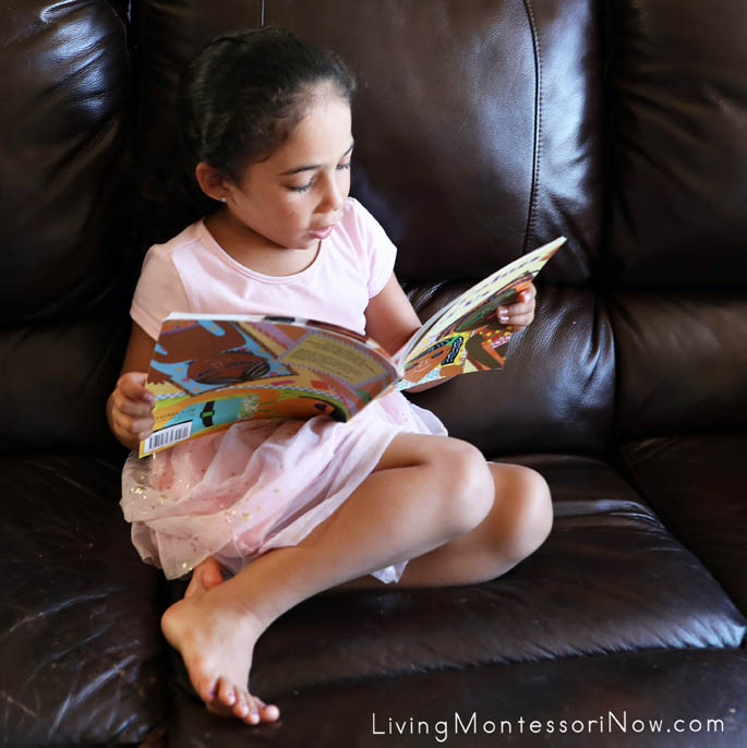 Enjoying a Favorite Book: The Colors of Us