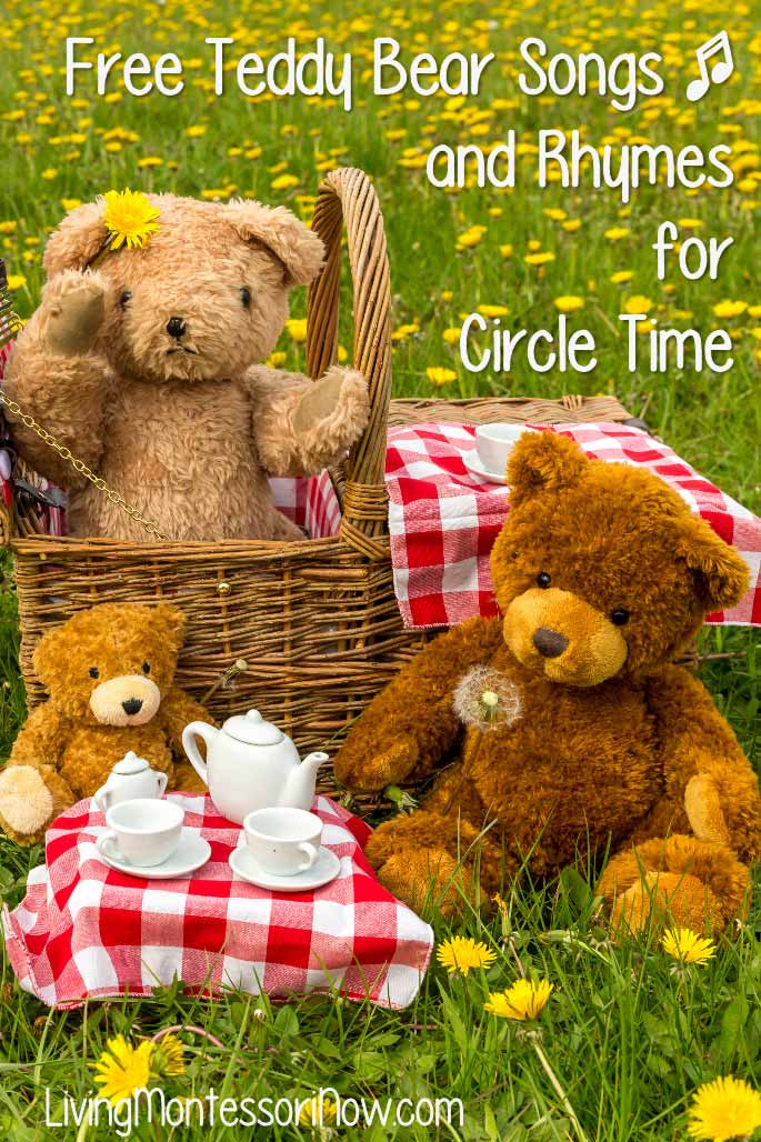 Free Teddy Bear Songs and Rhymes for Circle Time