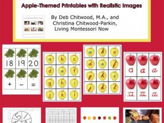 Montessori-Inspired Apple Pack