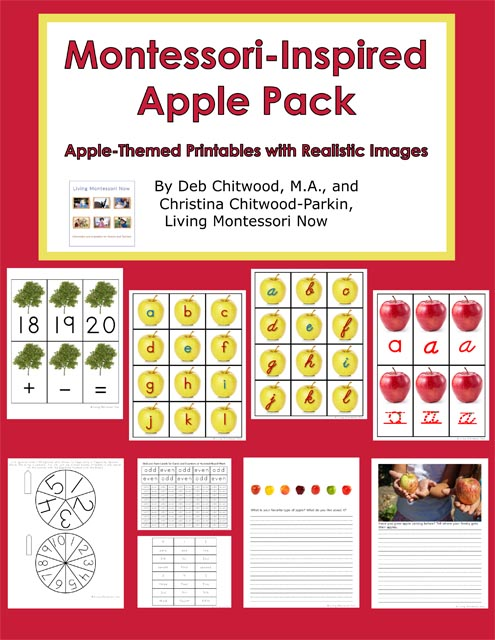 Montessori-Inspired Apple Pack