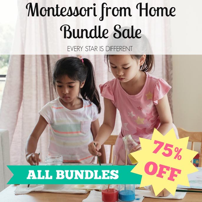 ALL Every Star Is Different Bundles 75% OFF until further notice!