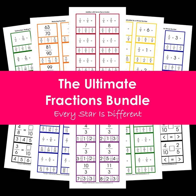 The Ultimate Fractions Bundle