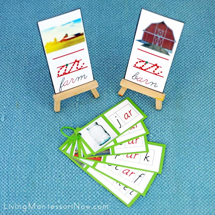 Farm and Barn ar Phonogram Cards and Booklet