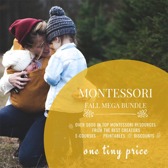 Montessori Fall Mega Bundle 97% Off Through September 22!
