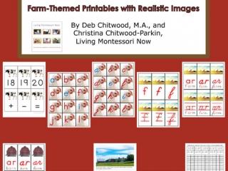 Montessori-Inspired Farm Pack