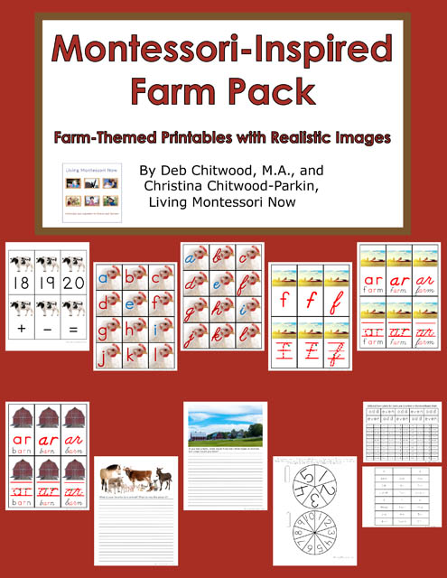 Montessori-Inspired Farm Pack
