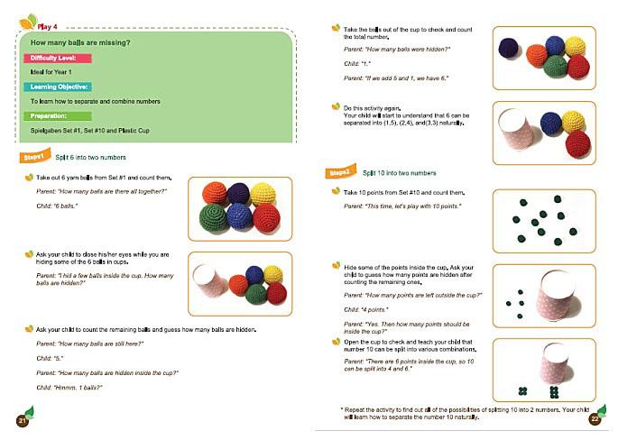 Spielgaben Math Guide, Pages 21-22
