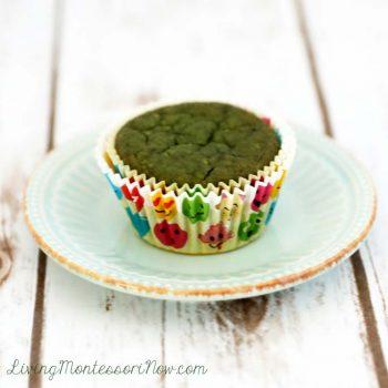 Gluten-Free Sweet Spinach Muffin {aka Green Monster Muffin}
