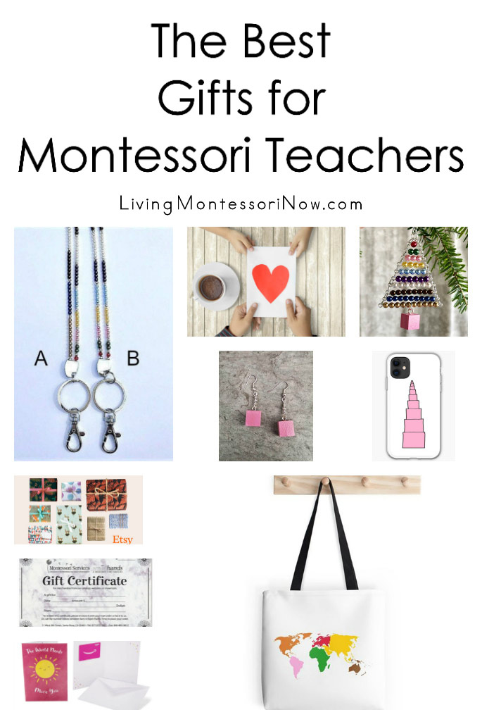 The Best Gifts for Montessori Teachers
