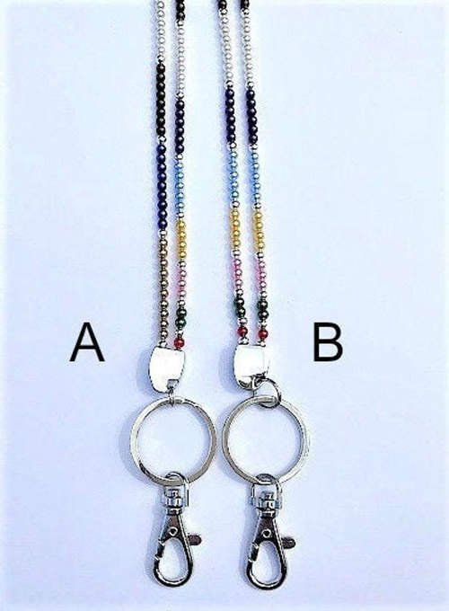 Two Options for Montessori Lanyards by My Bella Montessori on Etsy