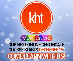KHT Montessori December 2 Online Course