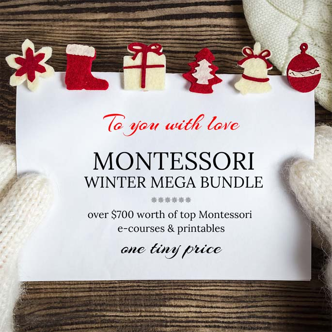Montessori Winter Mega Bundle 97% Off Through December 6