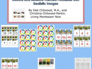Montessori-Inspired Months and Seasons Pack