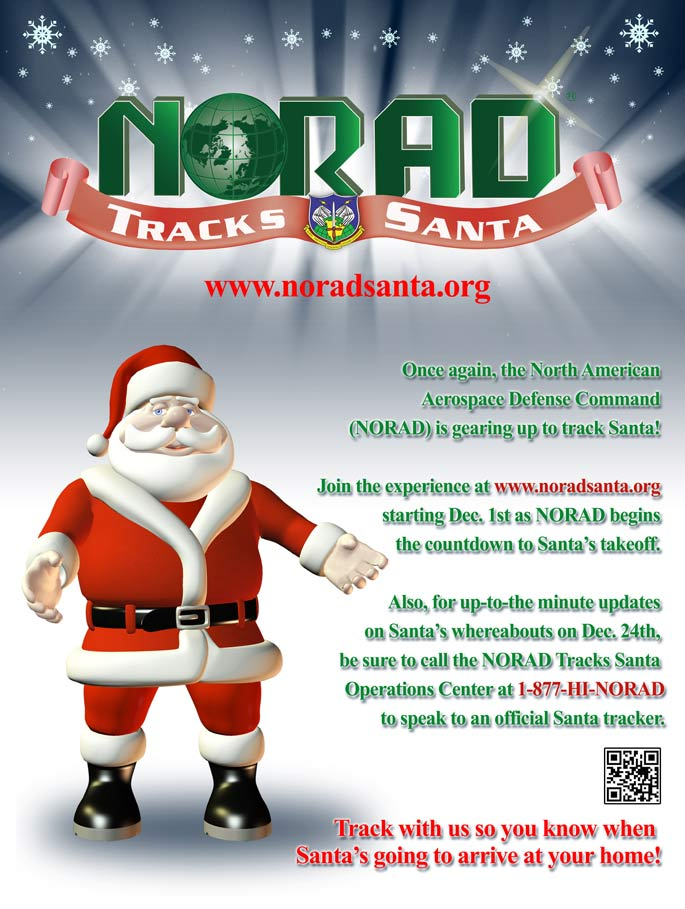 NORAD Tracks Santa Information