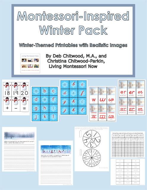 Montessori-Inspired Winter Pack