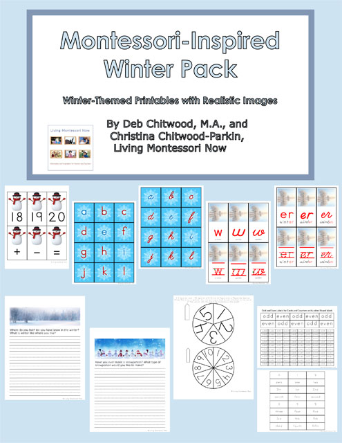 Montessori-Inspired Winter Pack