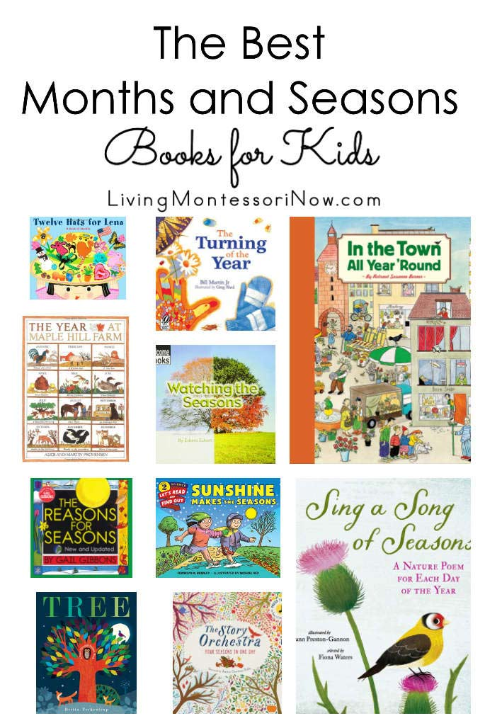 The Best Months and Seasons Books for Kids