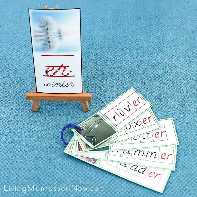 Winter er Phonogram Card and Booklet