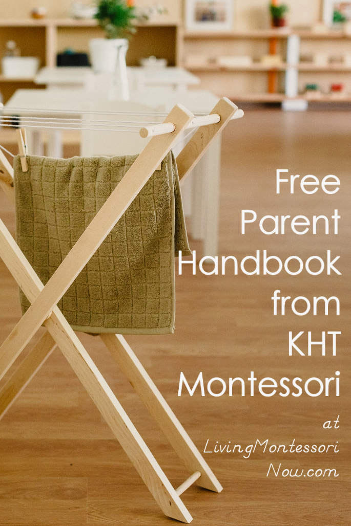Free Parent Handbook from KHT Montessori