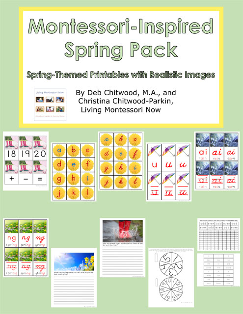 Montessori-Inspired Spring Pack