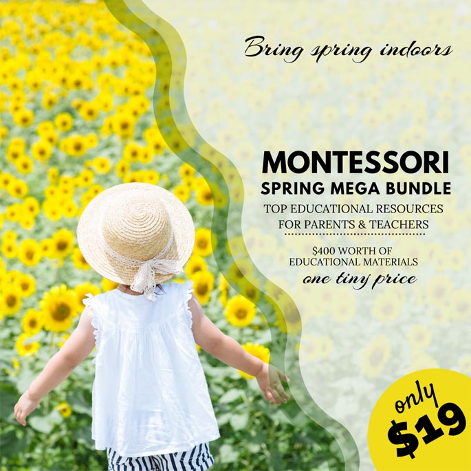 Montessori Spring Mega Bundle at 95% Off Through March 29!